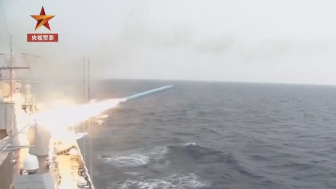 视频|尖端技术!解放军在海岛训练导弹试验测控