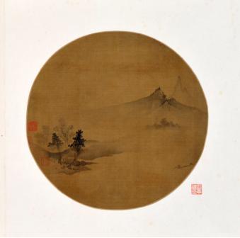 南宋佚名的《云山图》