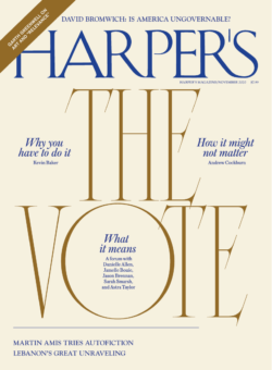 <strong>- HARPER'S - 2020年11月7日</strong>