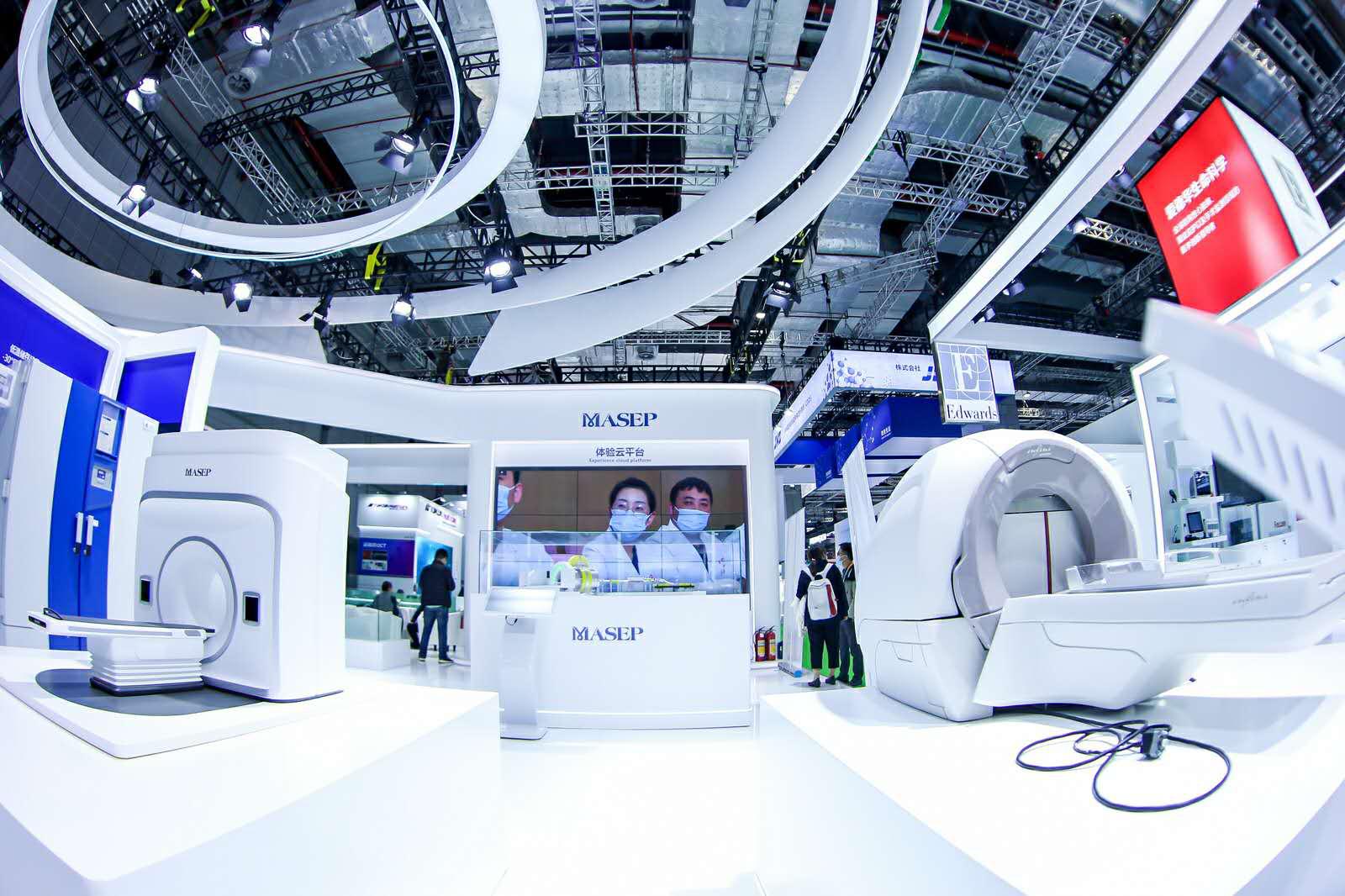 物联网强势赋能,进博会上看医疗生态场景的未来雏形