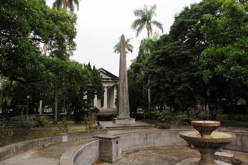 位于台北市大安区中国台湾大学校园内的傅斯年墓园——傅园