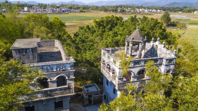 台山来信|把祖辈的碉楼打造成银信博物馆