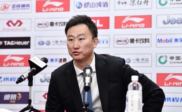 浙江队主教练刘维伟。
