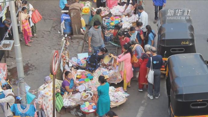 疫期迎来排灯节,印度开启疫情购物季