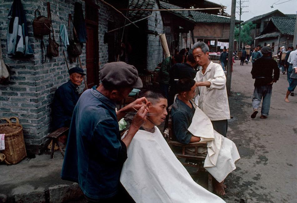露天采耳,成皆,1980 年