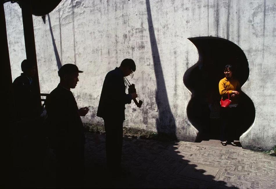 豫园,上海,1980年