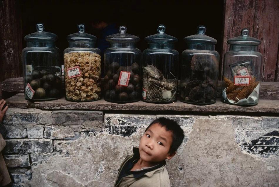 广西桂林废坪,1980年