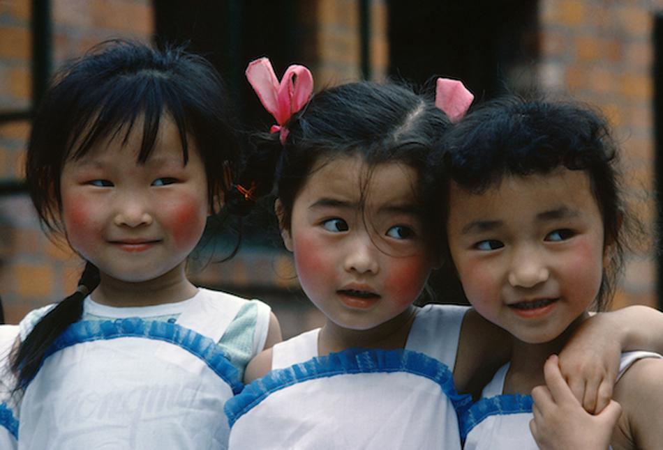 小父园,上海,1980 年