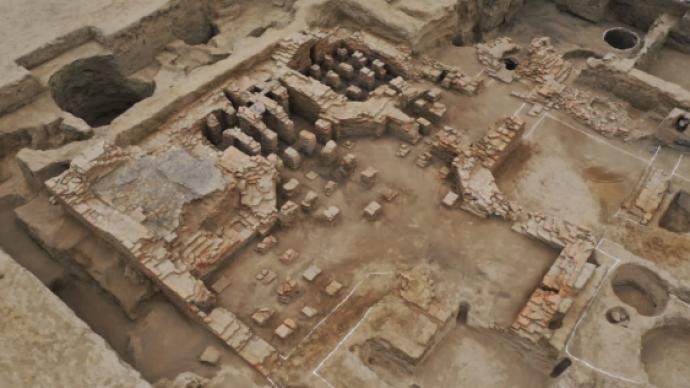 新疆奇臺縣發現唐宋時期浴場,兼具羅馬和中原風格
