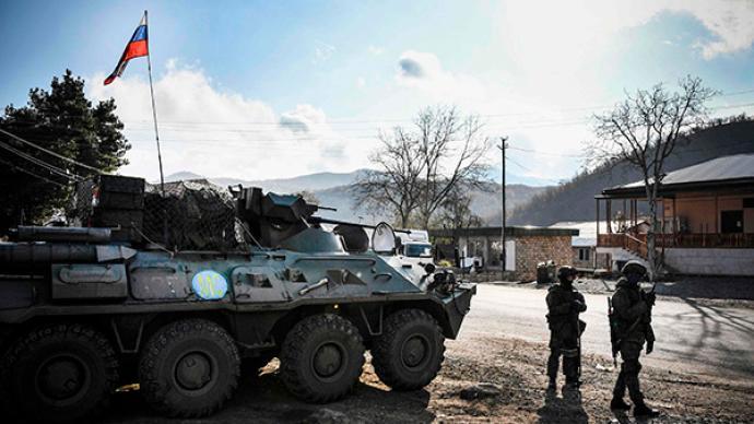 俄國防部:俄維和人員在納卡完成部署,地區局勢趨向穩定