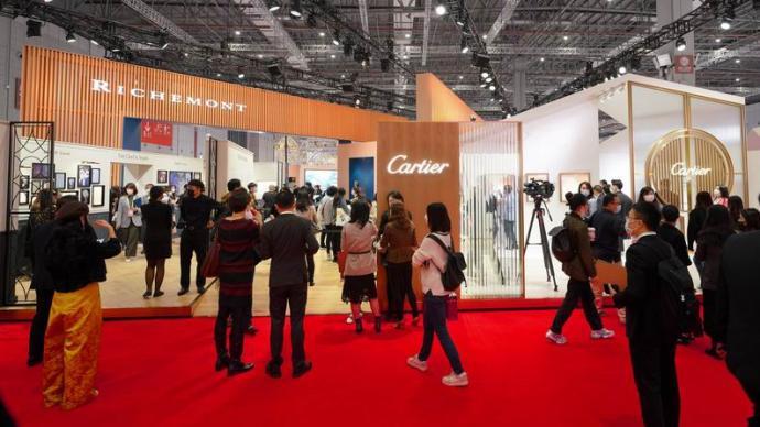 歷峰集團進博會首秀:中國市場強勁表現令人鼓舞