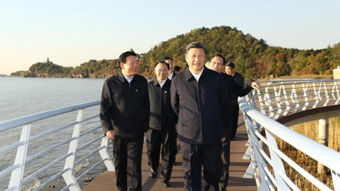 習近平:推動長江經濟帶高質量發展