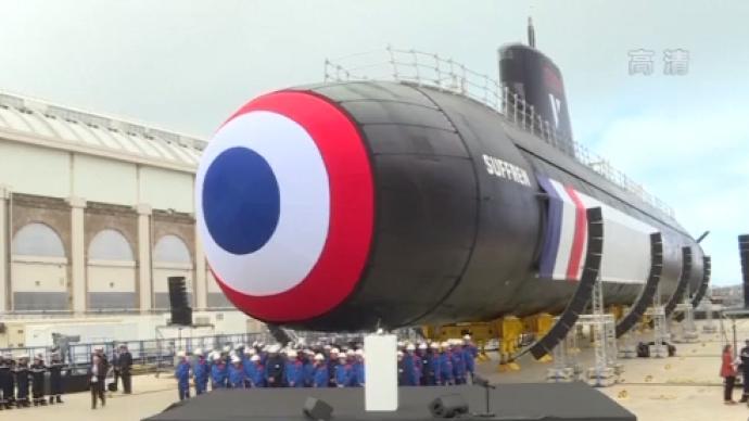 法國新型梭魚級核潛艇首艇交付海軍,系全球價格最低核潛艇