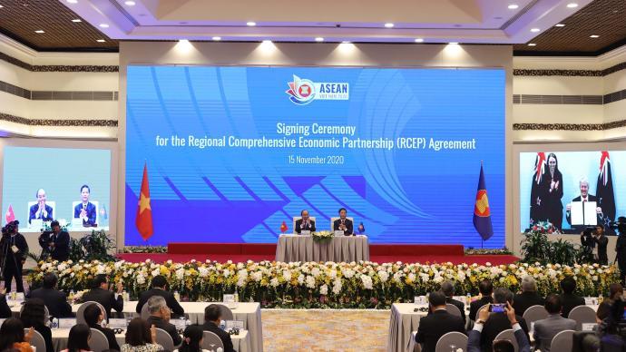 人民日報和音:RCEP正式簽署是東亞區域合作的標志性成果