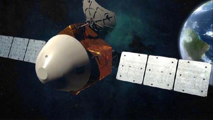 天問一號探測器在軌飛行116天,飛行里程突破3億千米