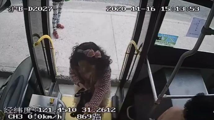 公交車上拒戴口罩?上海一司機停車報警,女乘客被帶回派出所