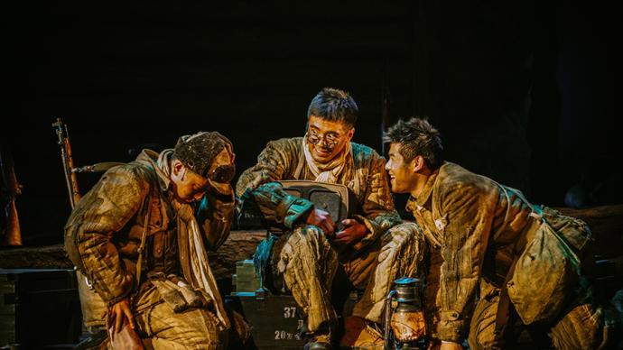話劇版《上甘嶺》:二號坑道里的12天