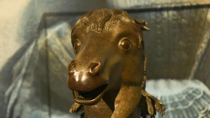 馬首銅像年內將回到圓明園并完成首秀,曾流失海外百余年