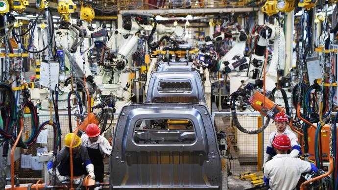 國家統計局:10月經濟延續穩定恢復態勢,不平衡狀況在改善
