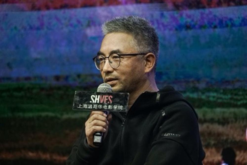 万玛才旦出席上海的路演活动