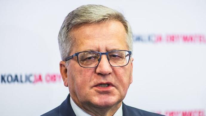 波蘭前總統科莫羅夫斯基將被轉院至華沙